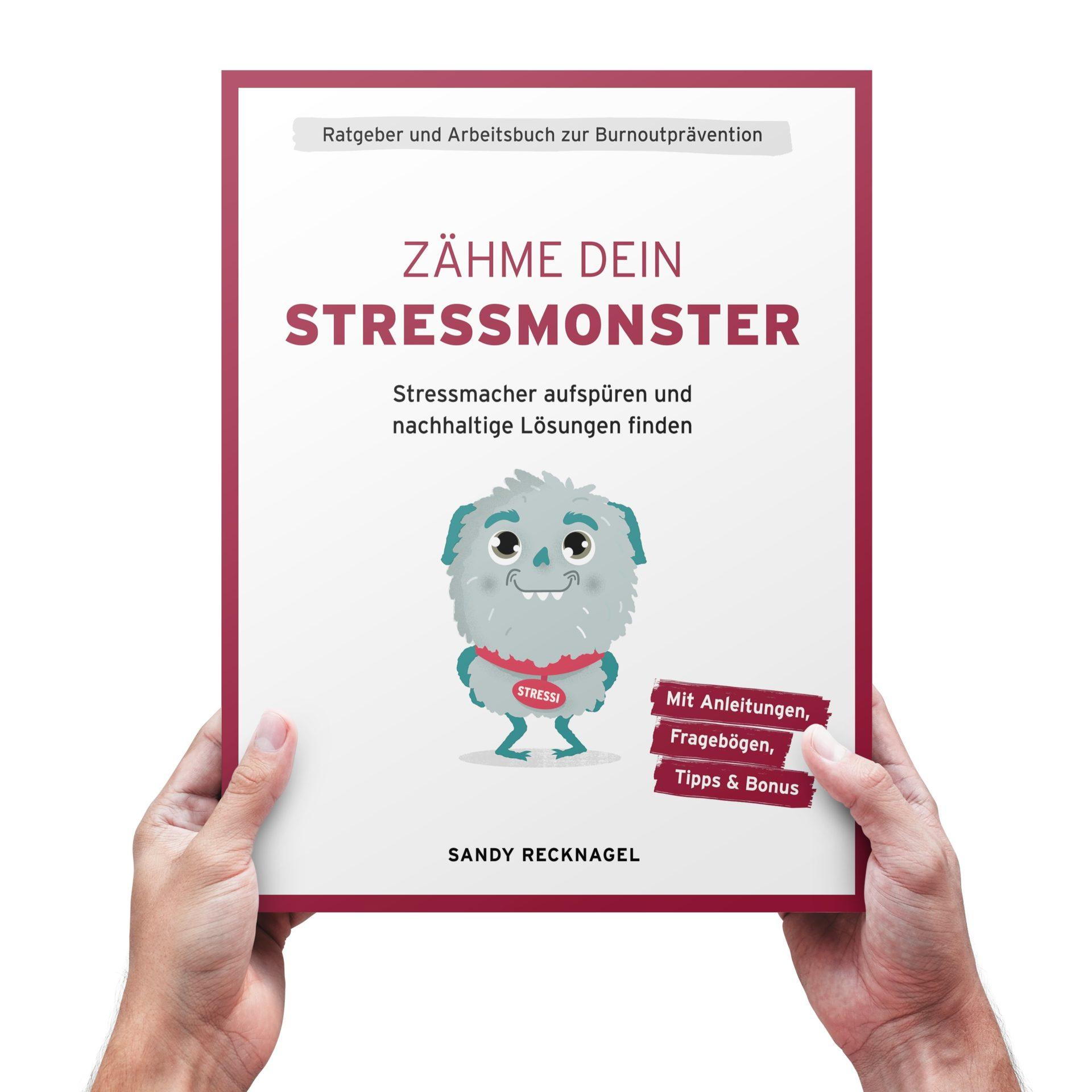Buchcover Zähme dein Stressmonster